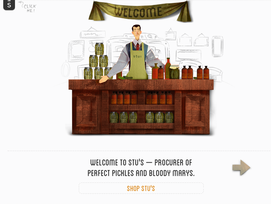 Website Content for Food Retailer