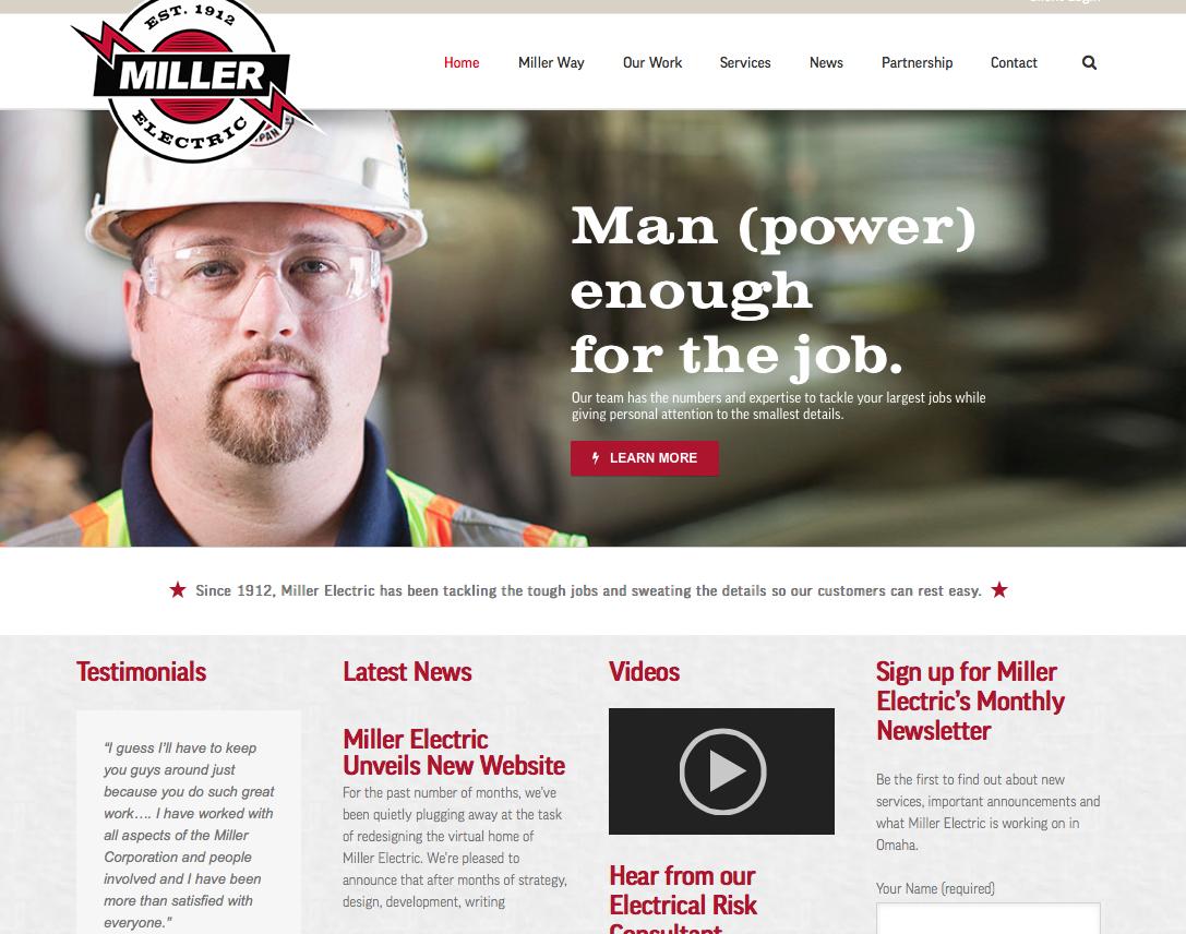 electrical contractor website