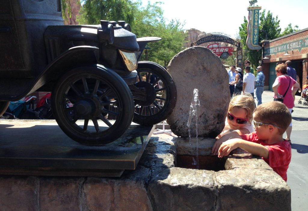 Radiator Springs at California Adventure park